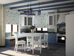 Кухни: Кухни в . Автор – ООО ПрофЭксклюзив Студия дизайна интерьеров