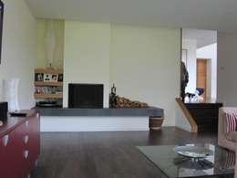 غرفة المعيشة تنفيذ The Chase Architecture