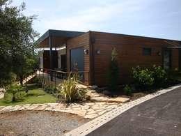 Casas de estilo rural por KITUR