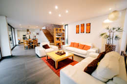 Salon de style de style Minimaliste par gOO Arquitectos