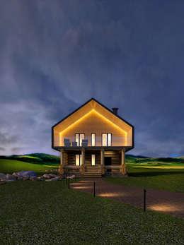 Гостевые  домики : Дома в . Автор – Dmitriy Khanin
