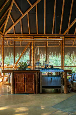 tropical Kitchen by IR arquitectura