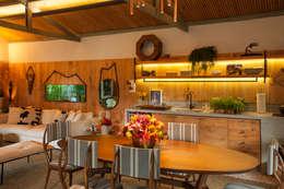 tropical Kitchen by Marina Linhares Decoração de Interiores