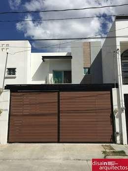 Casas de estilo moderno por disain arquitectos