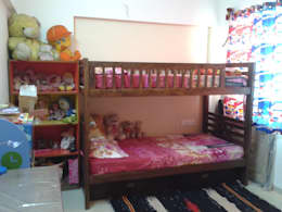 Bunk Bed in the daughter's room: modern Nursery/kid's room by Global Associiates