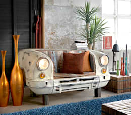 eclectic Living room تنفيذ homify