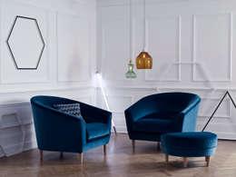 Salas de estilo moderno por Kirsty Whyte