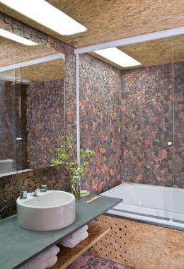 Projekty,  Łazienka zaprojektowane przez Carlos Bratke Arquiteto