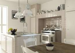 Projekty,  Kuchnia zaprojektowane przez Cer Vogue