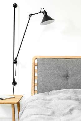 scandinavian Bedroom by Loft Kolasiński