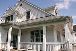 露臺 by THE WHITE HOUSE american dream homes gmbh