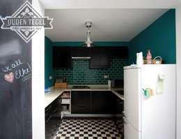 Realisaties: moderne Keuken door Den Ouden Tegel