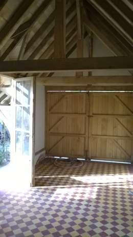 Realisaties: landelijke Garage/schuur door Den Ouden Tegel