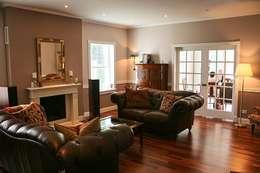 غرفة المعيشة تنفيذ THE WHITE HOUSE american dream homes gmbh