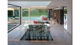CASA CARRARA: Jardines de invierno de estilo moderno por Remy Arquitectos
