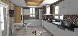 imza decor – akrilik mutfak: modern tarz Mutfak