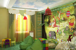 modern Nursery/kid's room by Дизайн студия Жанны Ращупкиной