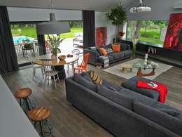 Livings de estilo moderno por stando interior design