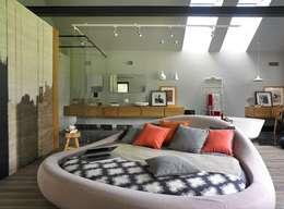 stando interior design: modern tarz Yatak Odası