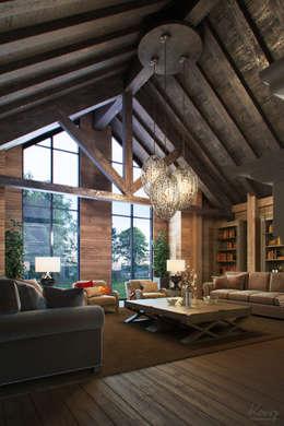 rustic Living room by Aleks [koovp] images