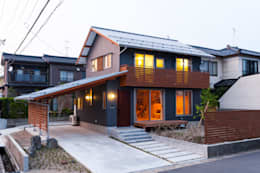 modern Houses by 株式会社山口工務店