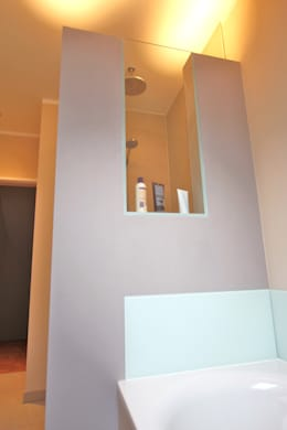 moderne Badkamer door Innenarchitekturbüro Jürgen Lübcke