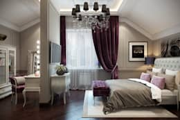 eclectic Bedroom by Design Studio Details