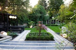 Japanese style planting: modern Garden by Earth Designs