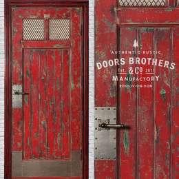 Projekty, industrialne Okna i drzwi zaprojektowane przez homify