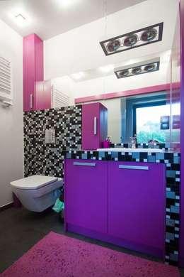Mieszkanie: styl , w kategorii Łazienka zaprojektowany przez 3D2 design art