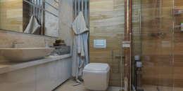 Брутальная однушка: Ванные комнаты в . Автор – D-SAV     ДИЗАЙН ИНТЕРЬЕРА И АРХИТЕКТУРА