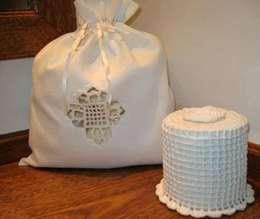Ropa de cama, toallas de baño y mantelería: Baños de estilo clásico por Blanc Nature
