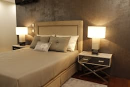 غرفة نوم تنفيذ HC Interiores
