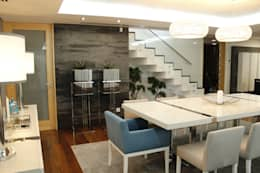 غرفة السفرة تنفيذ HC Interiores