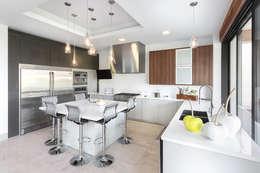CASA CAR: Cocinas de estilo moderno por Imativa Arquitectos