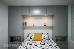 modern Bedroom by 홍예디자인
