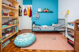 Aménagement complet d'un 65m²: Chambre d'enfant de style de style Moderne par Maud Rousset