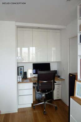 Félix Faure - Paris XV - 130 m2: Bureau de style de style Moderne par Desjoconception