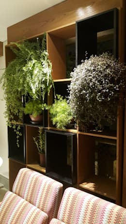 Projekty,  Ogród zimowy zaprojektowane przez Lucio Nocito Arquitetura e Design de Interiores