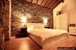 Chambre de style de style Rustique par Casa do Páteo