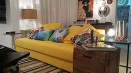 Livings de estilo minimalista por Lucio Nocito Arquitetura e Design de Interiores