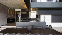 modern Living room by Nico Van Der Meulen Architects