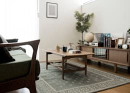 scandinavian Living room تنفيذ Sisusta