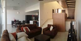 Salas / recibidores de estilo moderno por SANTIAGO PARDO ARQUITECTO