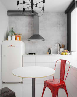 Cozinhas minimalistas por homify