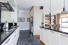 Mieszkanie z Miasteczka Wilanów: styl , w kategorii Kuchnia zaprojektowany przez Michał Młynarczyk Fotograf Wnętrz