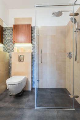Moderna eleganza un appartamento da copiare al centimetro - Bagno in un metro quadro ...
