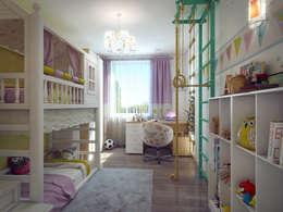Chambre d'enfant de style de style eclectique par Details, design studio