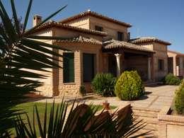 Casas de estilo rural por CARLOS TRIGO GARCIA