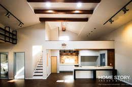modern Kitchen by (주)홈스토리